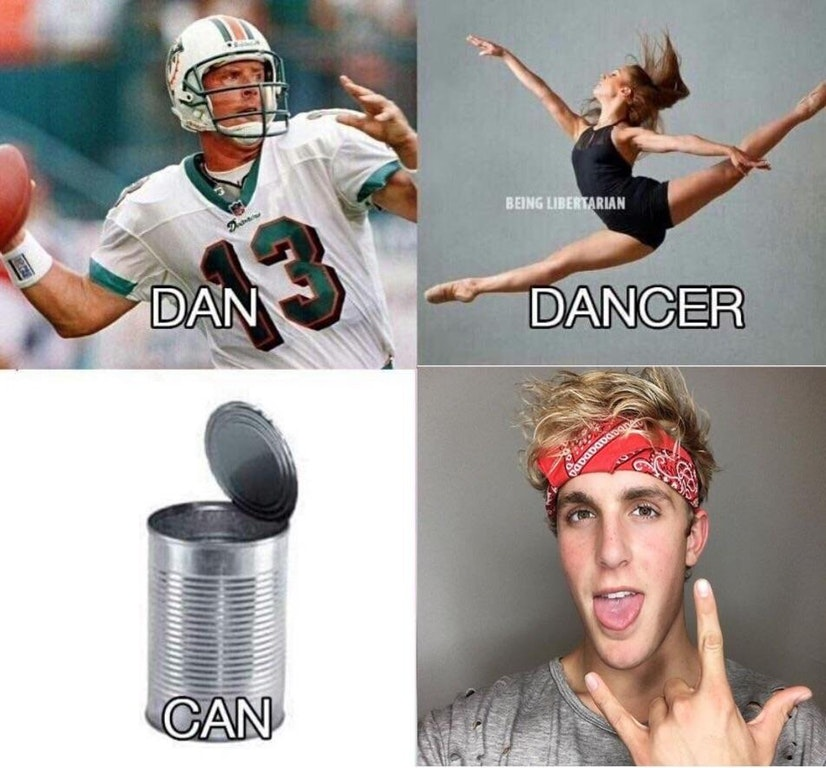 Jake Paul Dan Dancer Can Cancer Know Your Meme