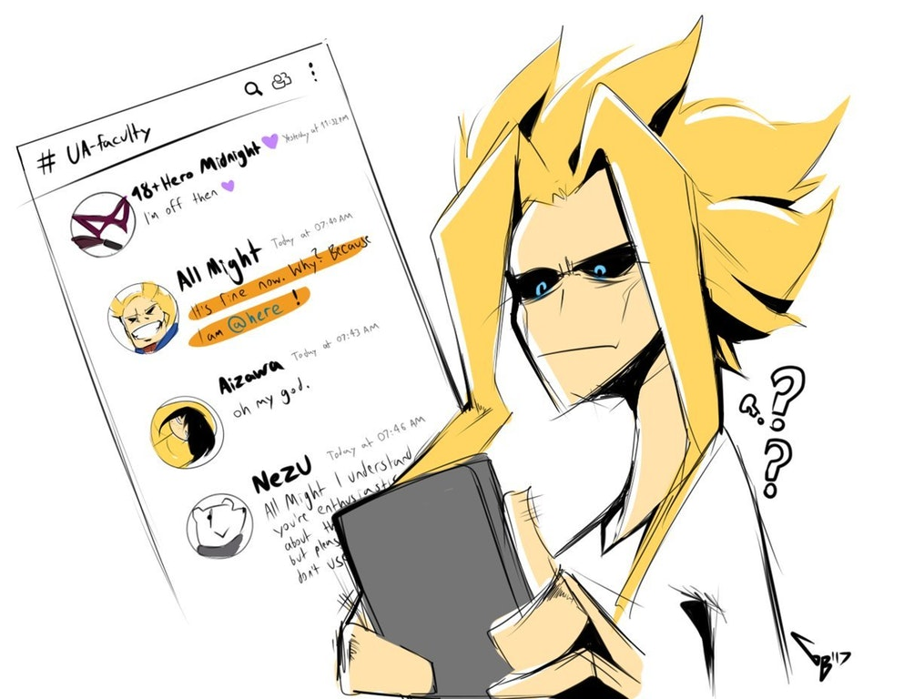 All Might Notifies Everyone on Discord | My Hero Academia | Know