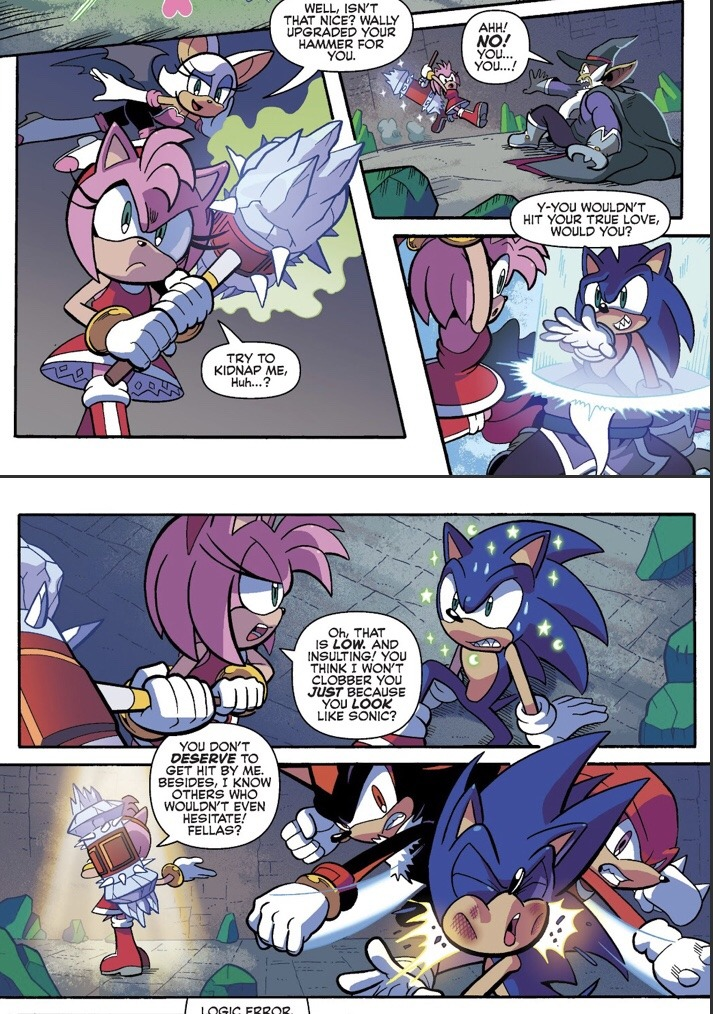 God I Miss The Archie Comics Already Sonic The Hedgehog Know Your Meme