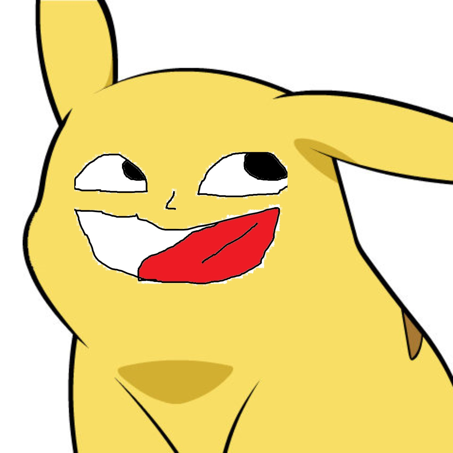 Pikachu Crappy Face I Made The Other Thay This Give Pikachu A