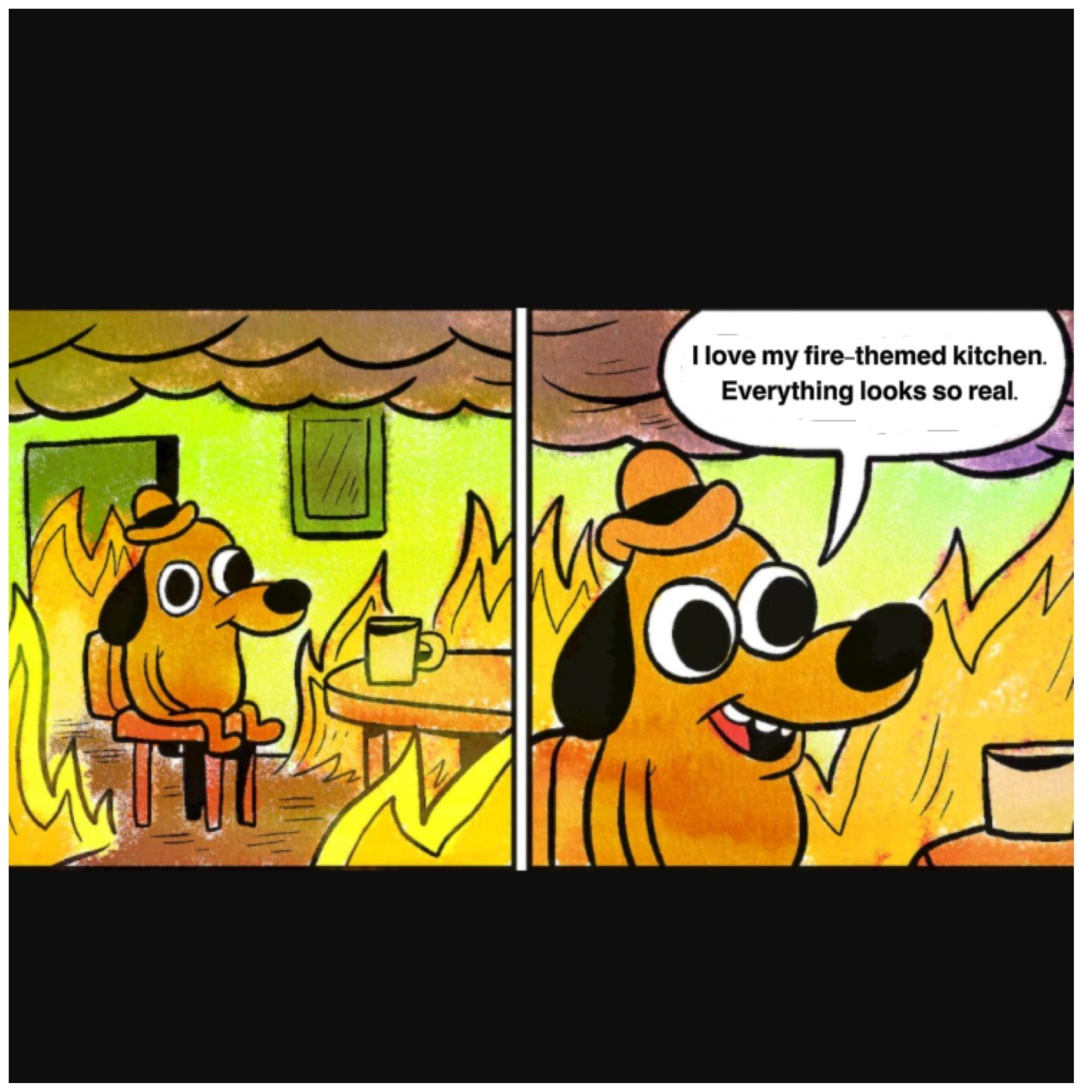 Help Bring The This Is Fine Dog Meme To Life As A Plush Doll