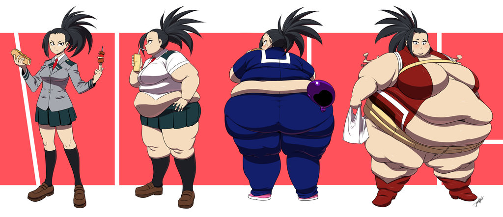 PLUS SIZE ULTRA: Momo Yaoyorozu | Body Inflation | Know Your Meme