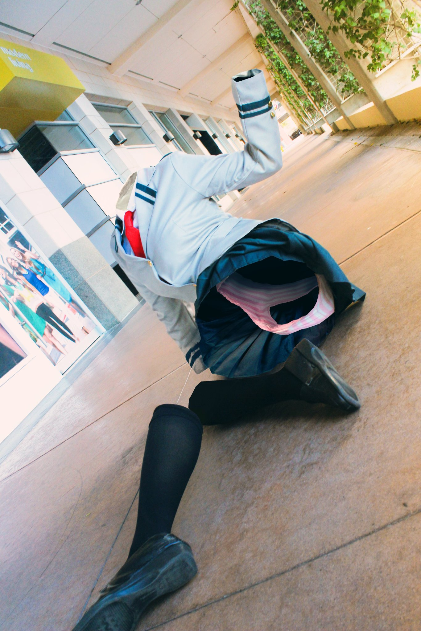 Sexy Tooru Cosplay My Hero Academia Know Your Meme