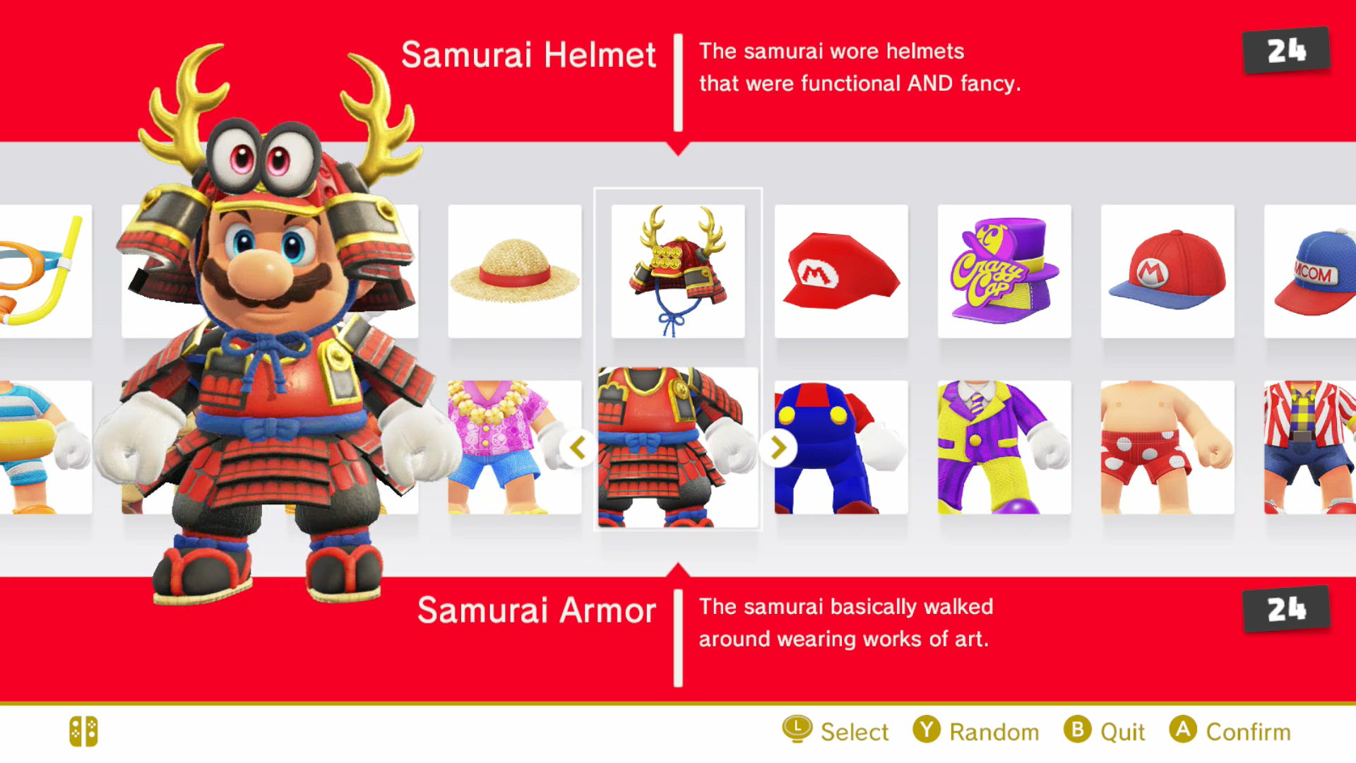 Samurai Helmet 24 The samurai wore helmets that were functional AND fancy. o O OM  sc 1 st  Know Your Meme & samurai costume | Super Mario Odyssey | Know Your Meme