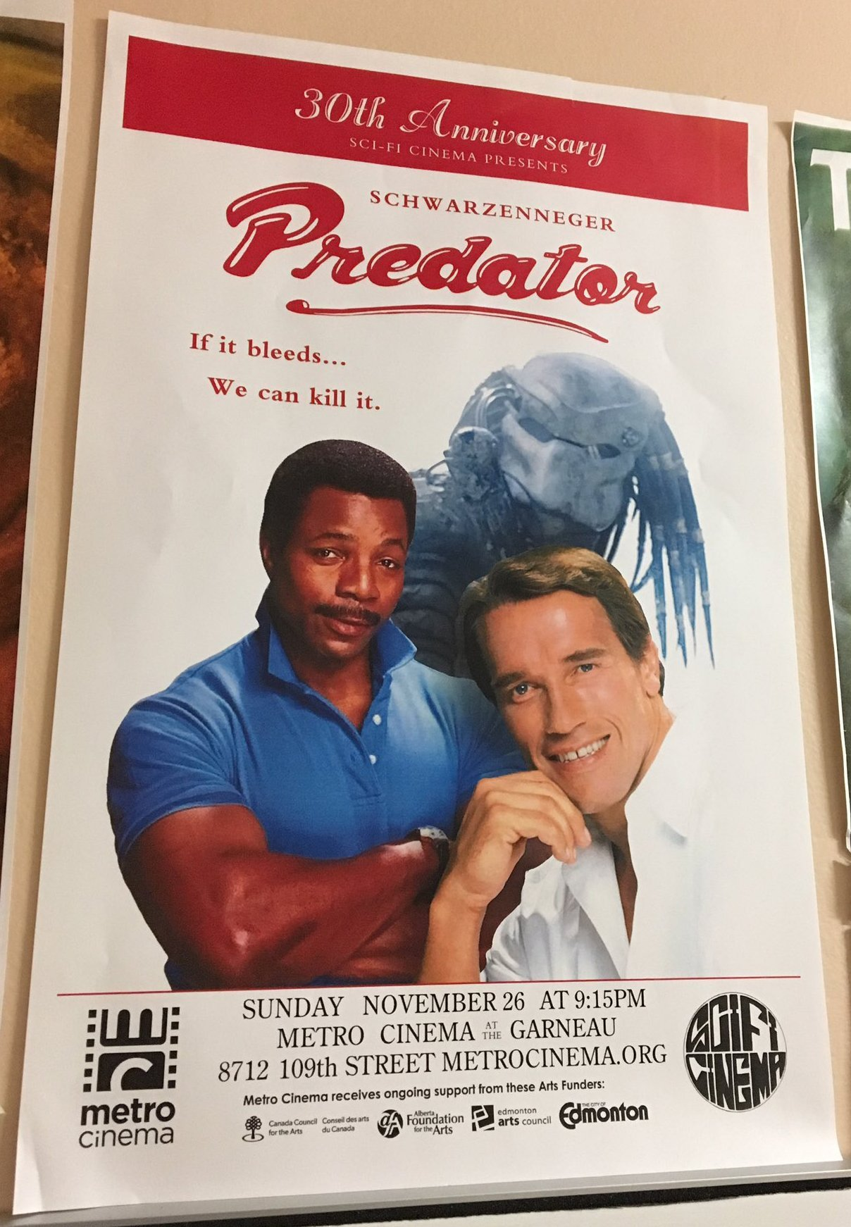 30th anniversary poster predator know your meme