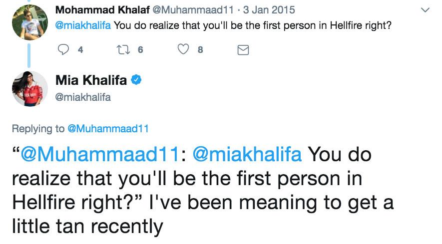Muhammaad11: @miakhalifa You do realize that you'll be the