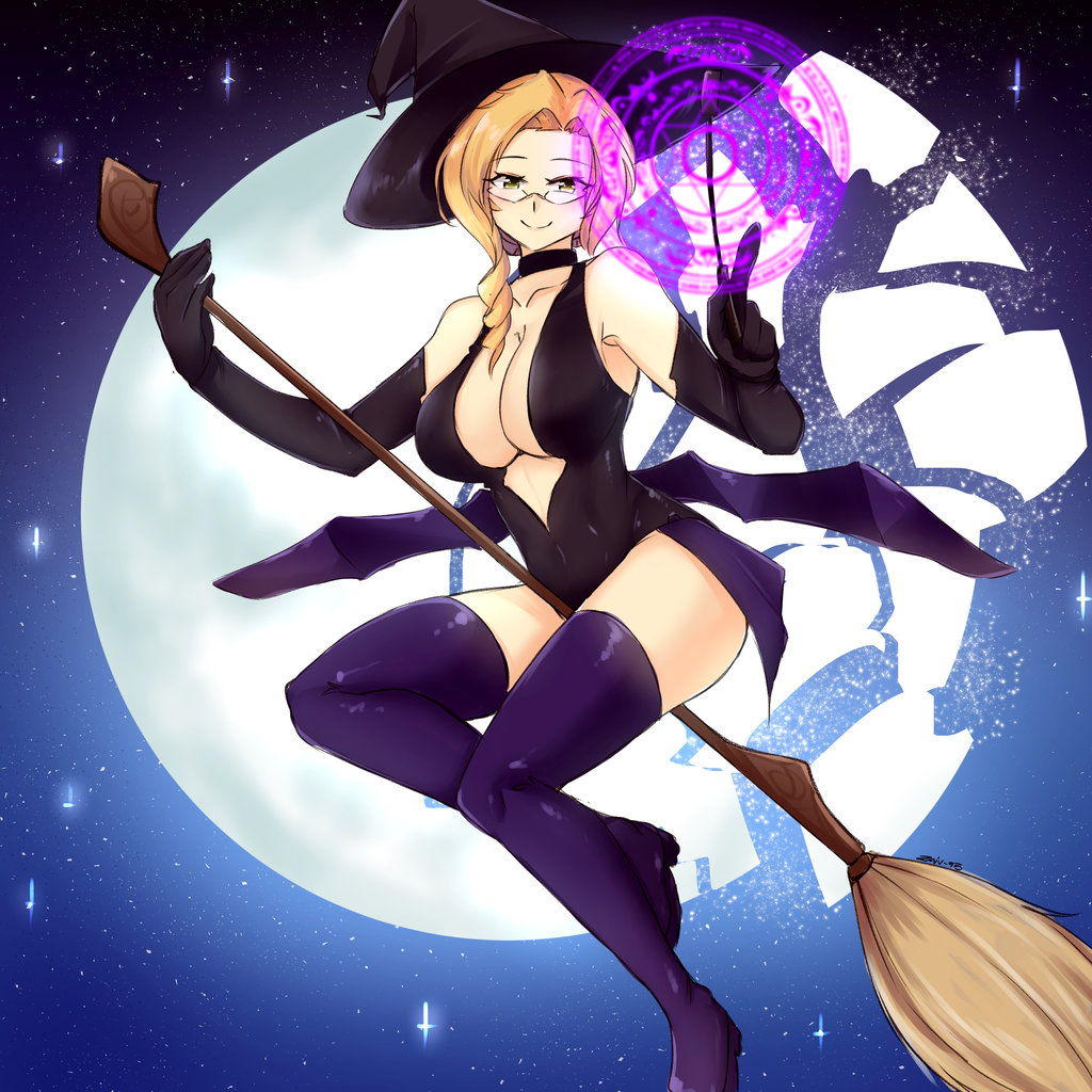 glynda goodwitch halloween pin-up | rwby | know your meme