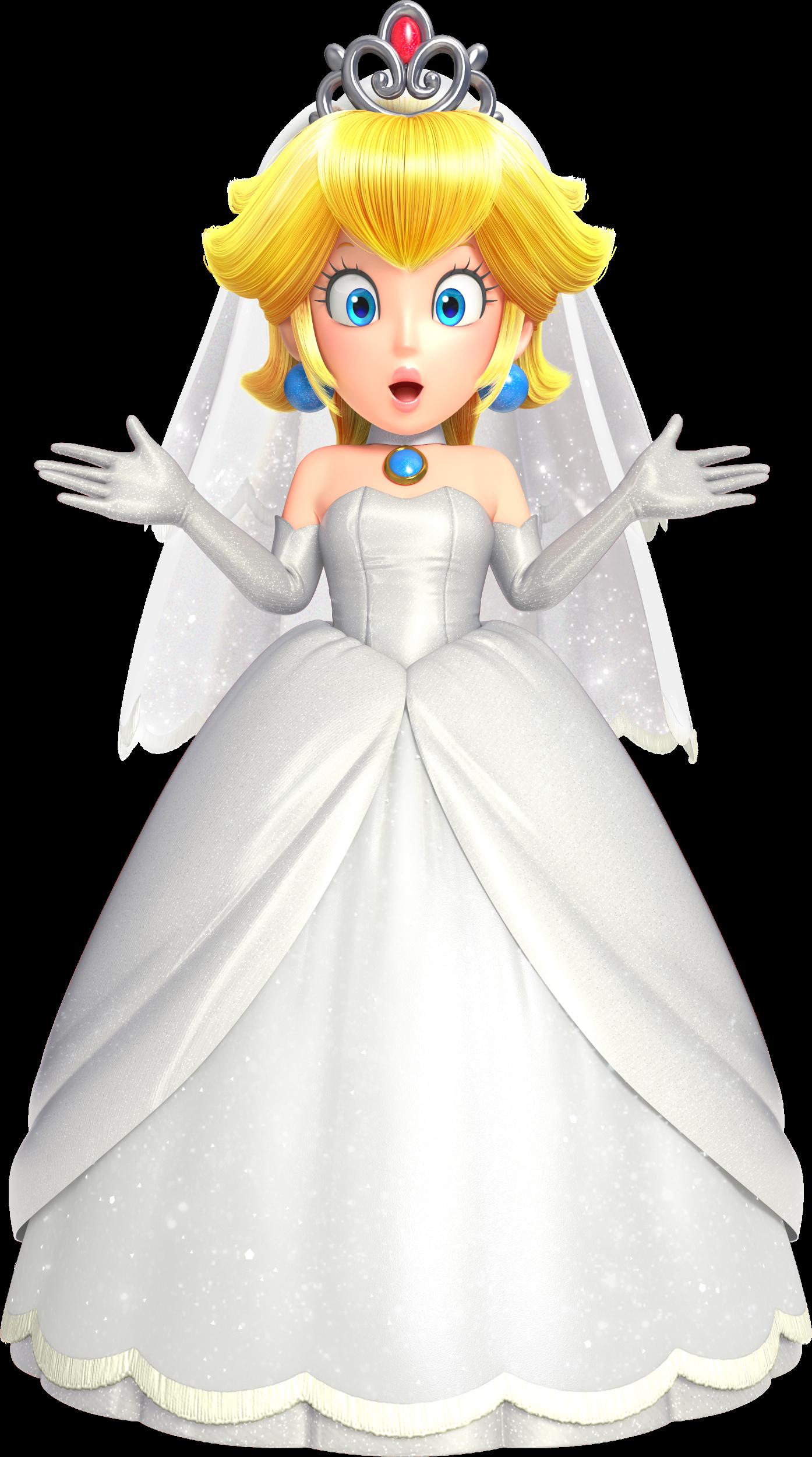 Wedding Peach Super Mario Odyssey Know Your Meme