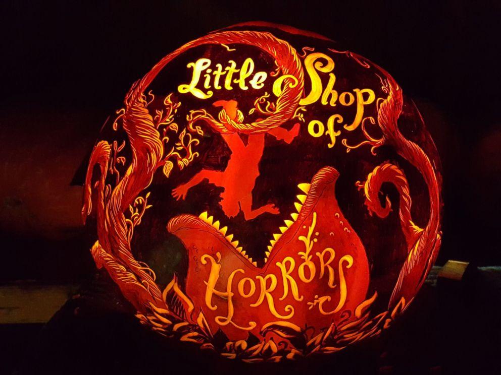 little shop of horrors pumpkin carving art know your meme