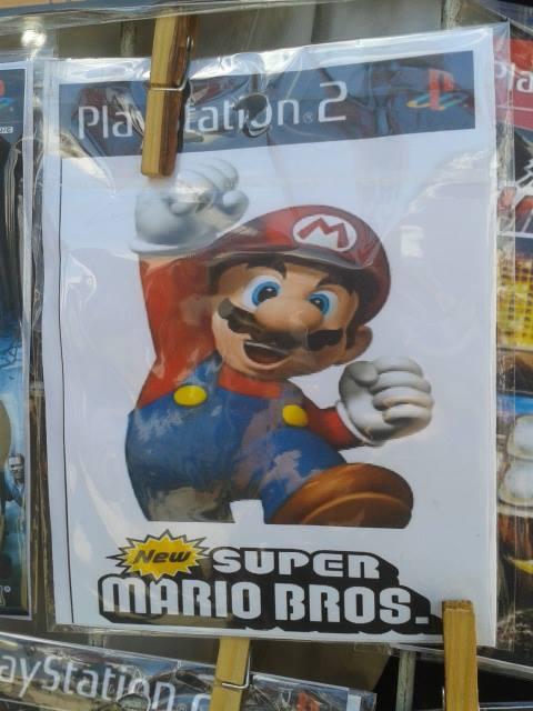 6f56439f0588 Pl New SUPER MARIO BROS New Super Mario Bros PlayStation 2 poster