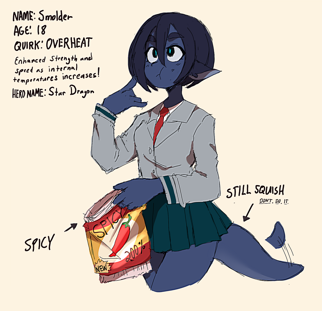 Joke Hero OC as proclaimed by the artist  | My Hero Academia
