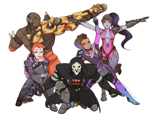 talon force overwatch know your meme