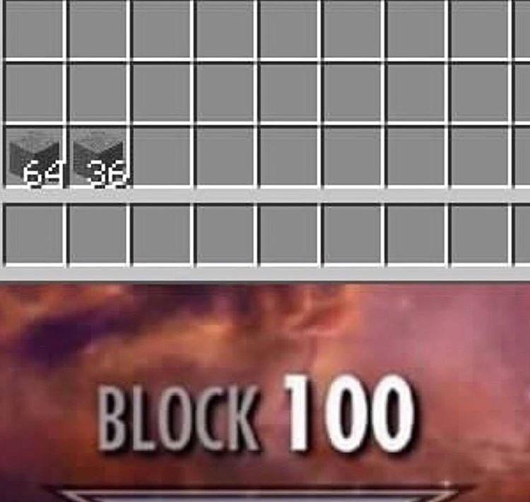 Block 100 Skyrim Skill Tree Know Your Meme