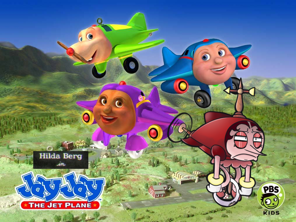 Jay Jay The Jet Plane With Special Guest Hilda Berg Cuphead