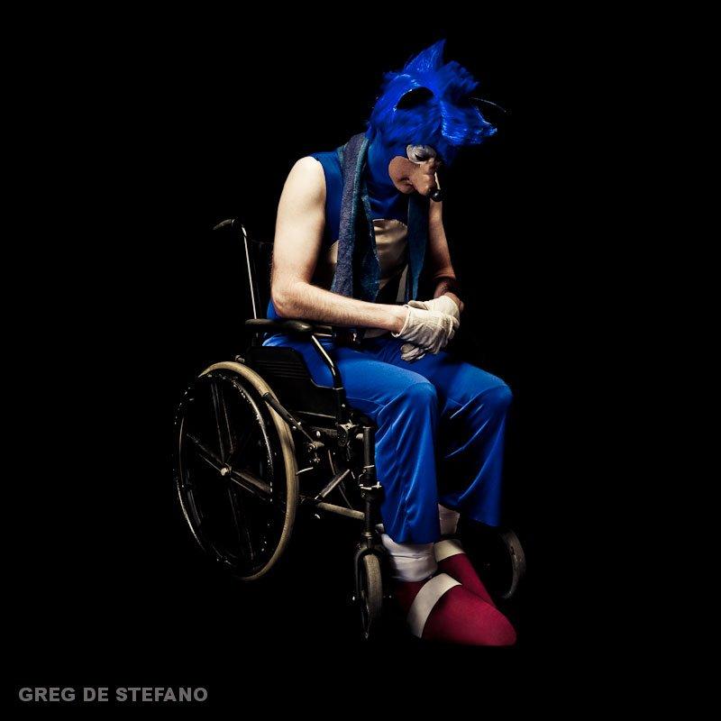 Sonic Cosplay Wheelchair