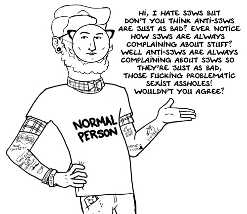 A Normal Person On Sjws Social Justice Warrior Know Your Meme