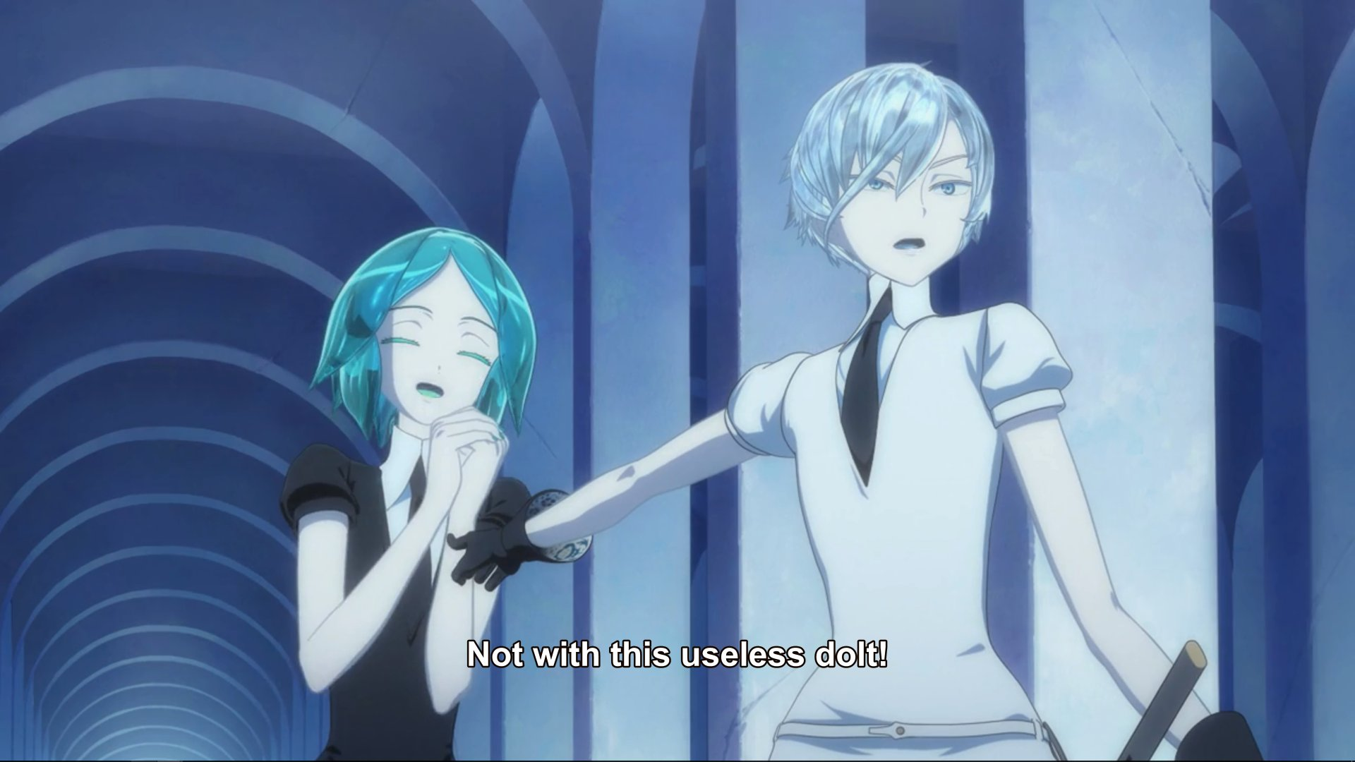 Land Of The Lustrous In A Nutshell Houseki No Kuni Know Your Meme