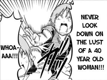 Older woman manga