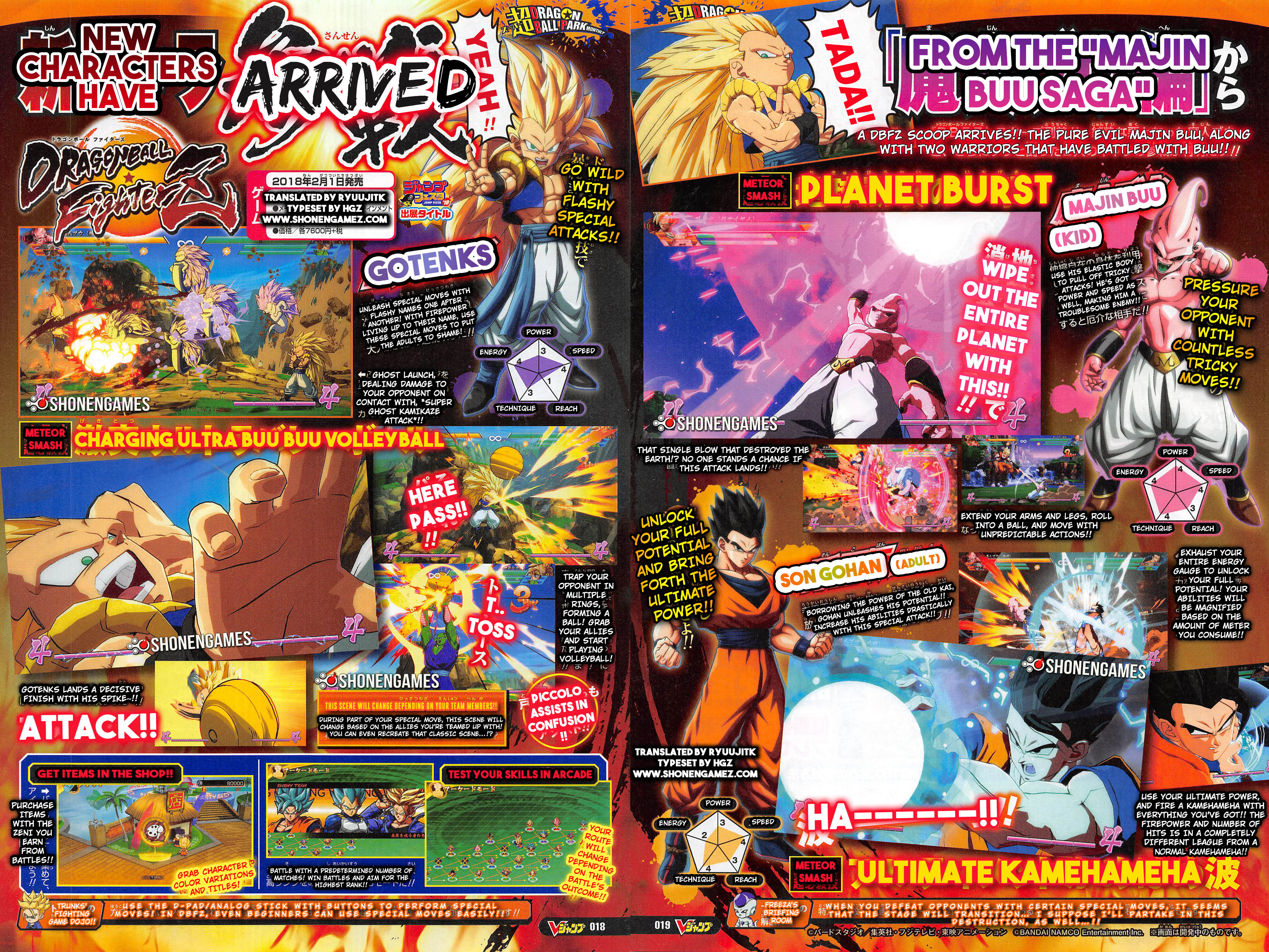 Gotenks ultimate gohan and kid buu translated dragon ball ufromthe4mauin gharaciers arrimed have planetburstmmndud with specta wipe out the ressure gotenks entire altavistaventures Images