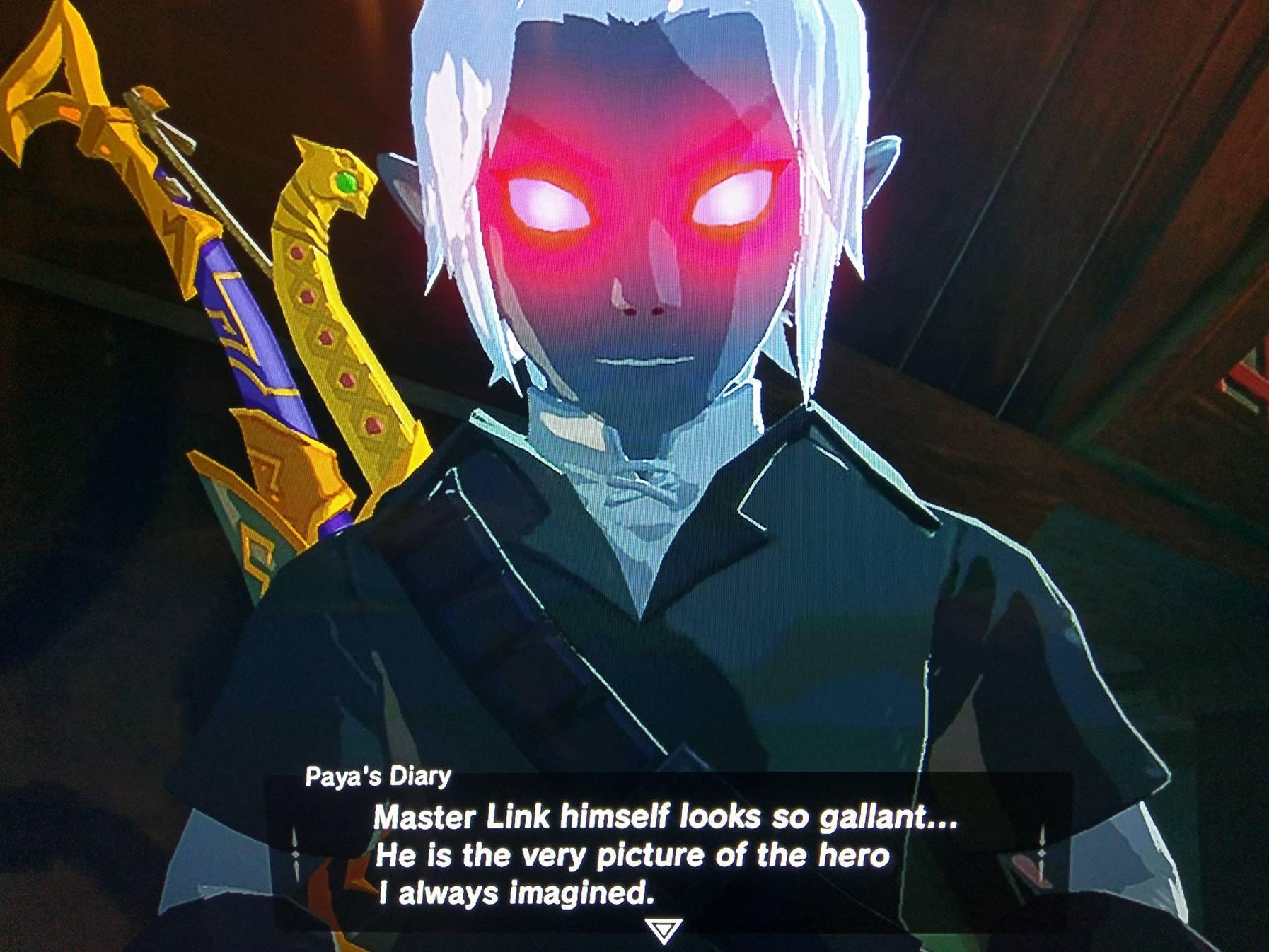 Breath Of The Wild Dark Link >> Dark Link The Legend Of Zelda Breath Of The Wild Know Your Meme