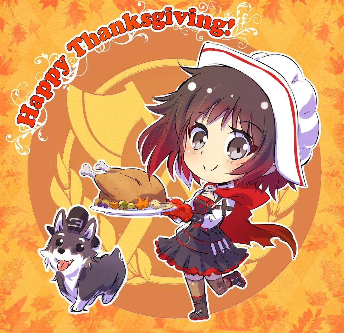 Chibi Thanksgiving | RWBY | Know Your Meme