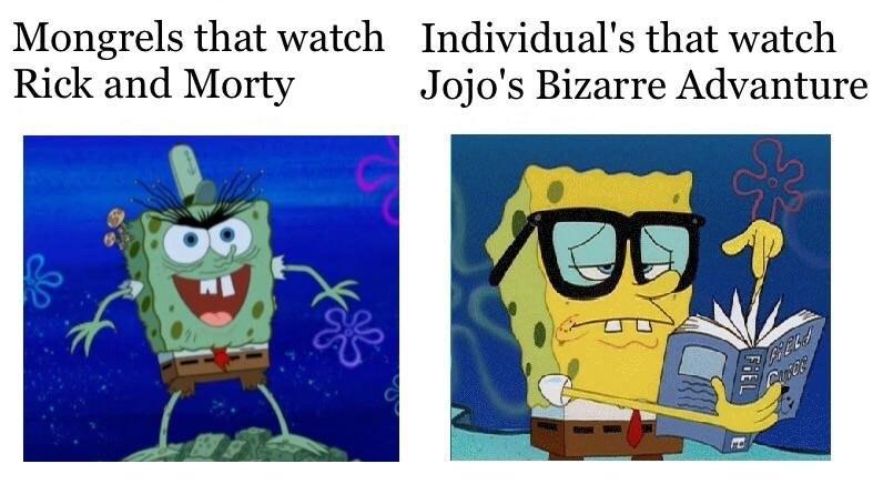 individuals the watch jojo s bizarre adventure people who watch