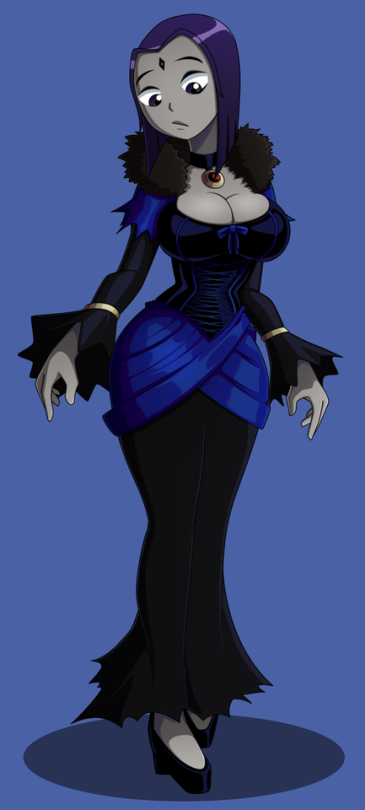 Raven In A Different Outfit