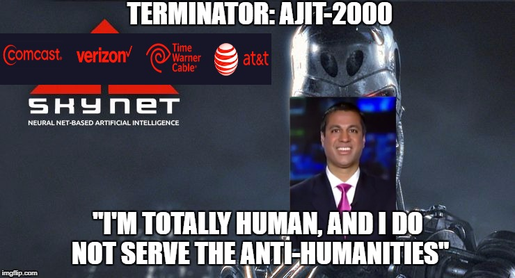 The Real Skynet From Terminator Net Neutrality Know Your Meme