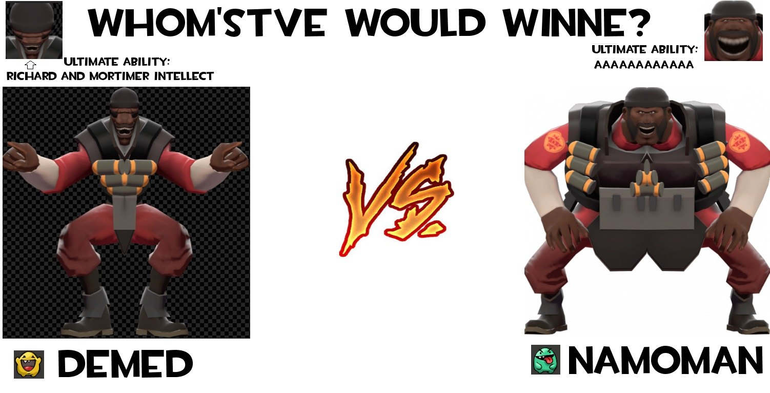 Demed Vs Namoman Team Fortress 2 Know Your Meme