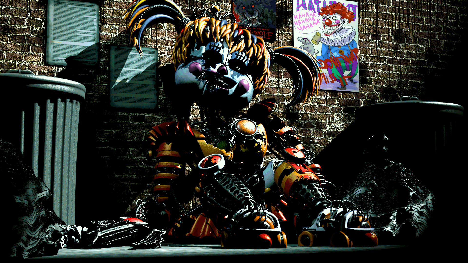 Freakshowscrap Baby Five Nights At Freddys Know Your Meme