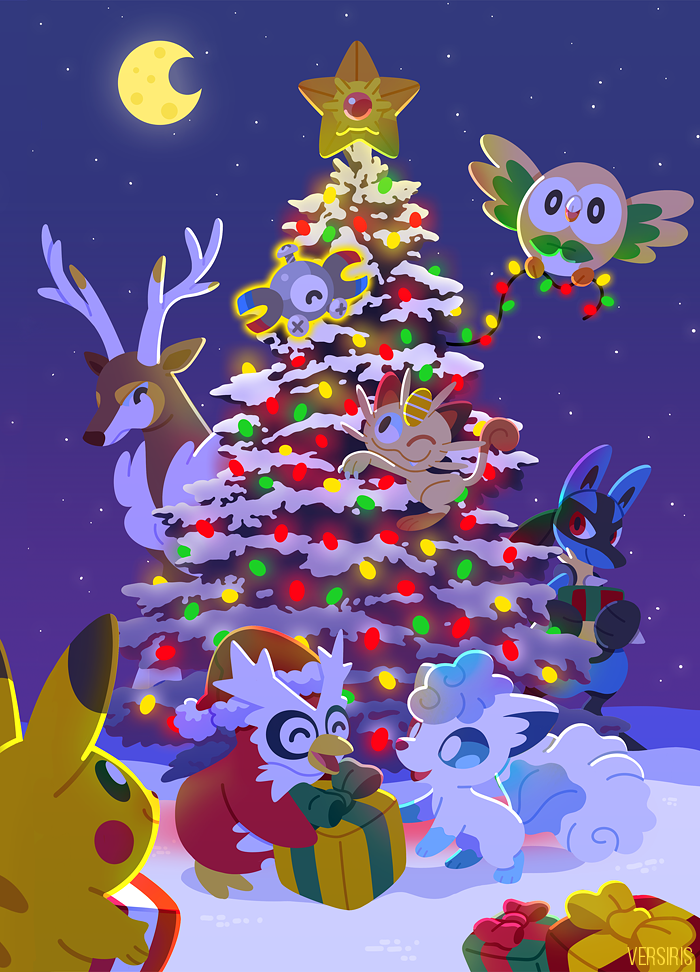 Pokemon Christmas.Pokemon Christmas Pokemon Know Your Meme