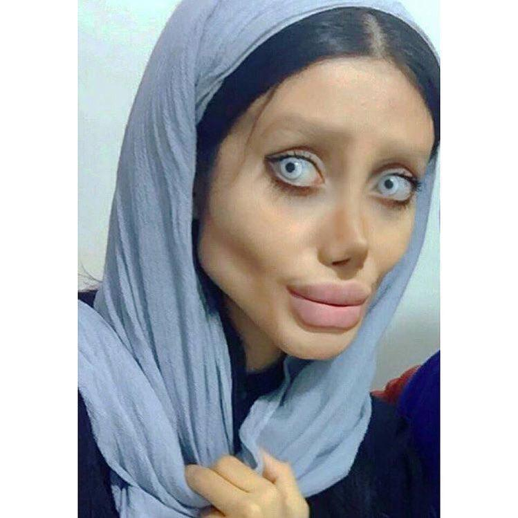 Sahar Tabar Official Instagram >> Via Sahartabar Official Instagram Sahar Tabar S Zombie Angelina