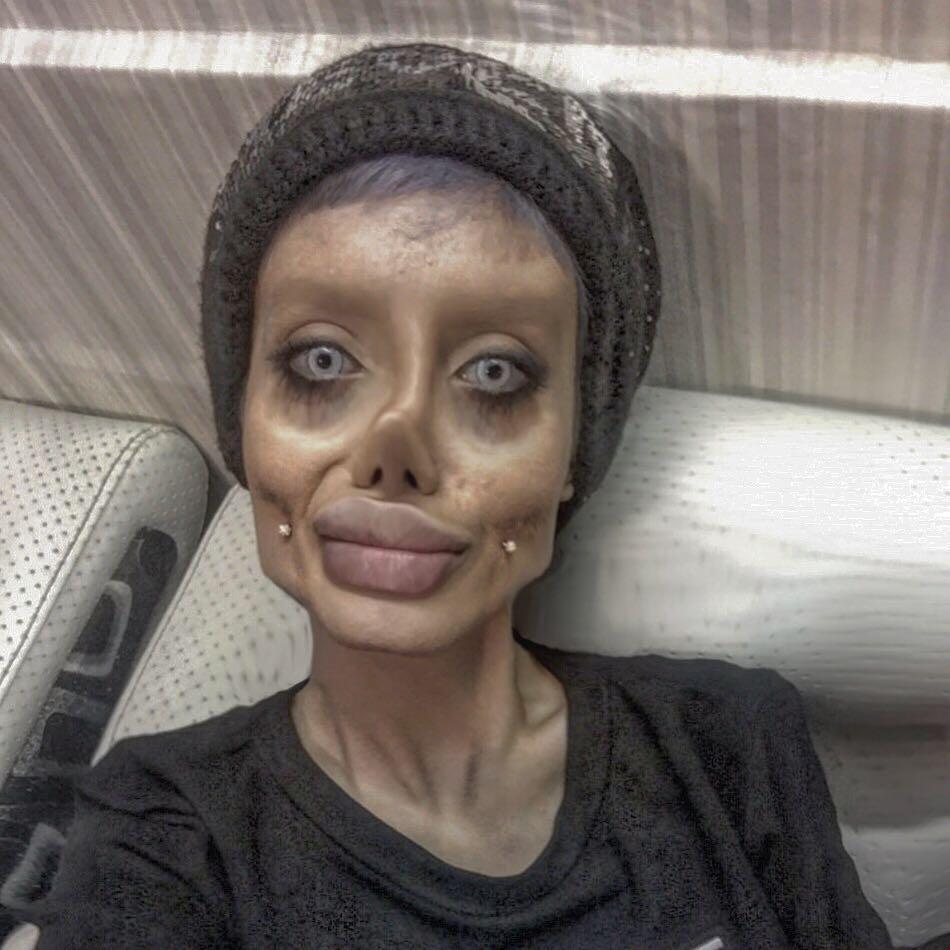 Via Sahartabarofficial Instagram Sahar Tabars Zombie Angelina