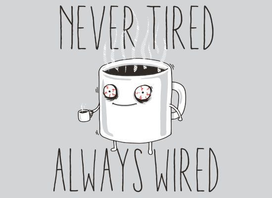 Never Tired Always Wired   Tired / Wired   Know Your Meme