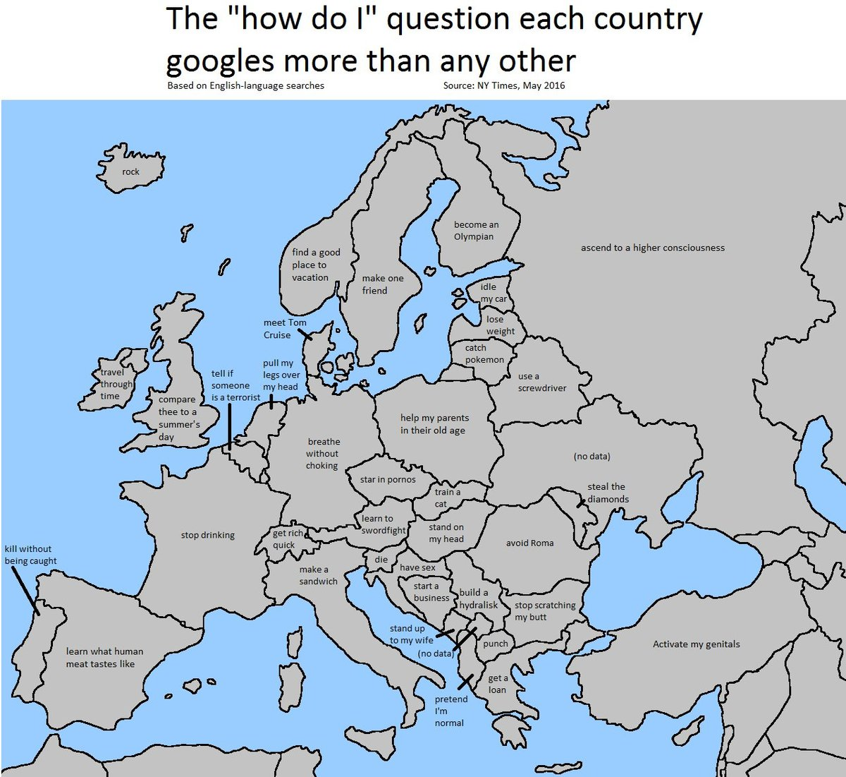 Europe Is Weird Google Maps Know Your Meme
