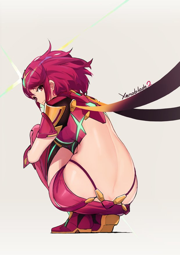 pyra by leaf plus xenoblade chronicles know your meme