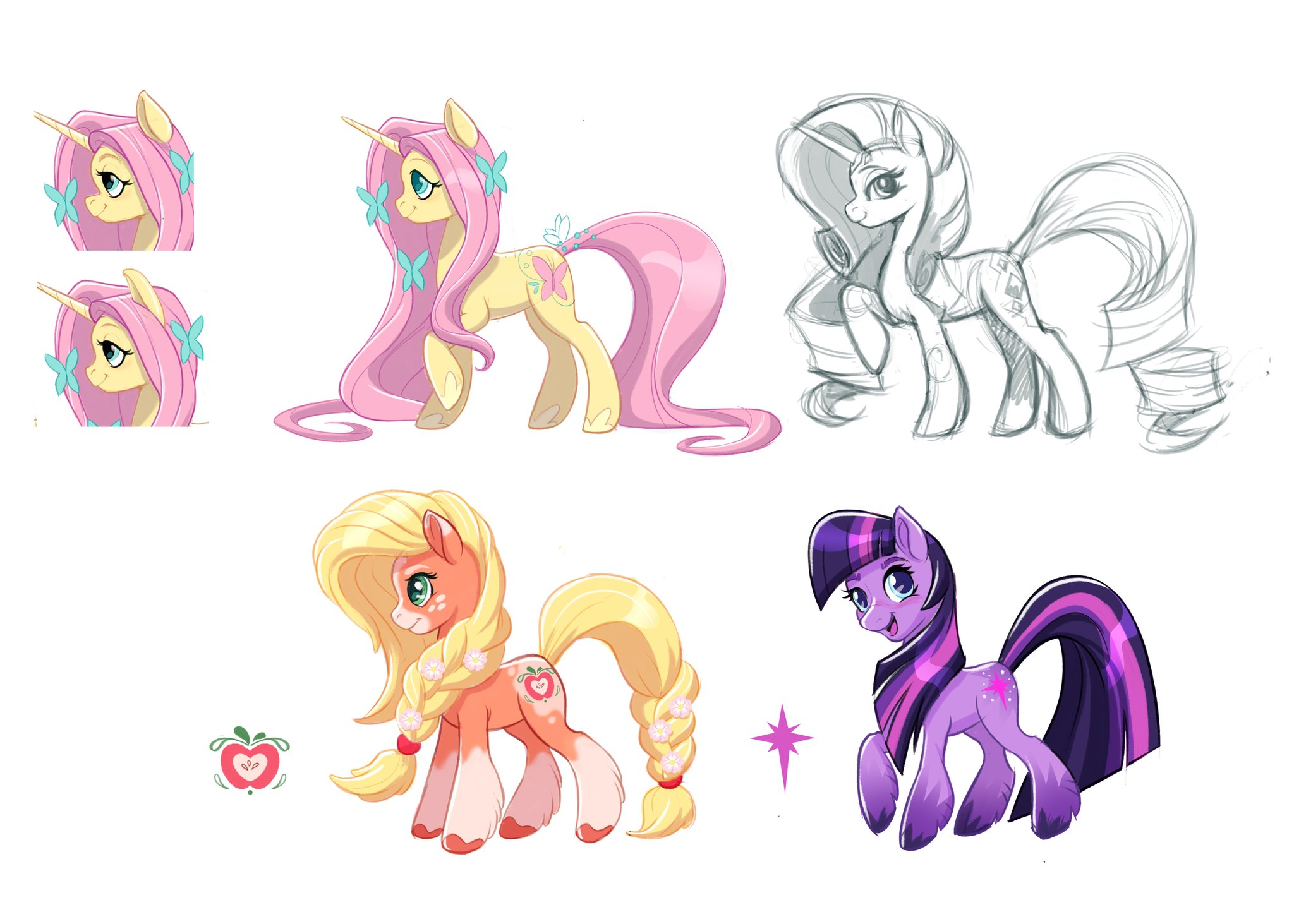 G5 Redesigns My Little Pony Friendship Is Magic Know Your Meme