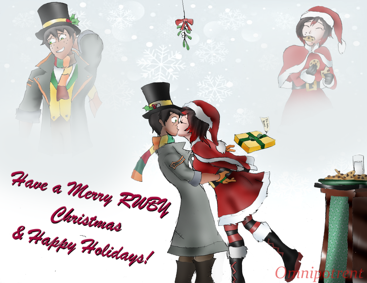 Rwby Christmas.When You Make Homemade Christmas Cookies For That Special