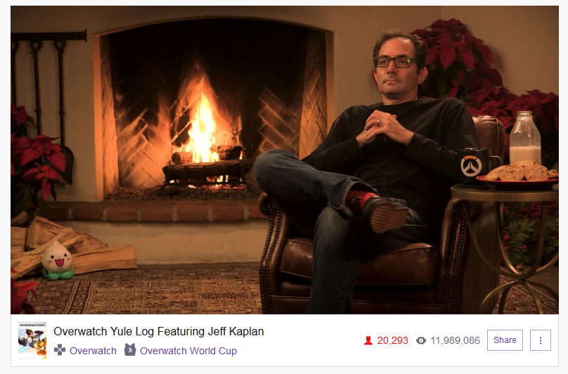 papa jeff yule log overwatch know your meme