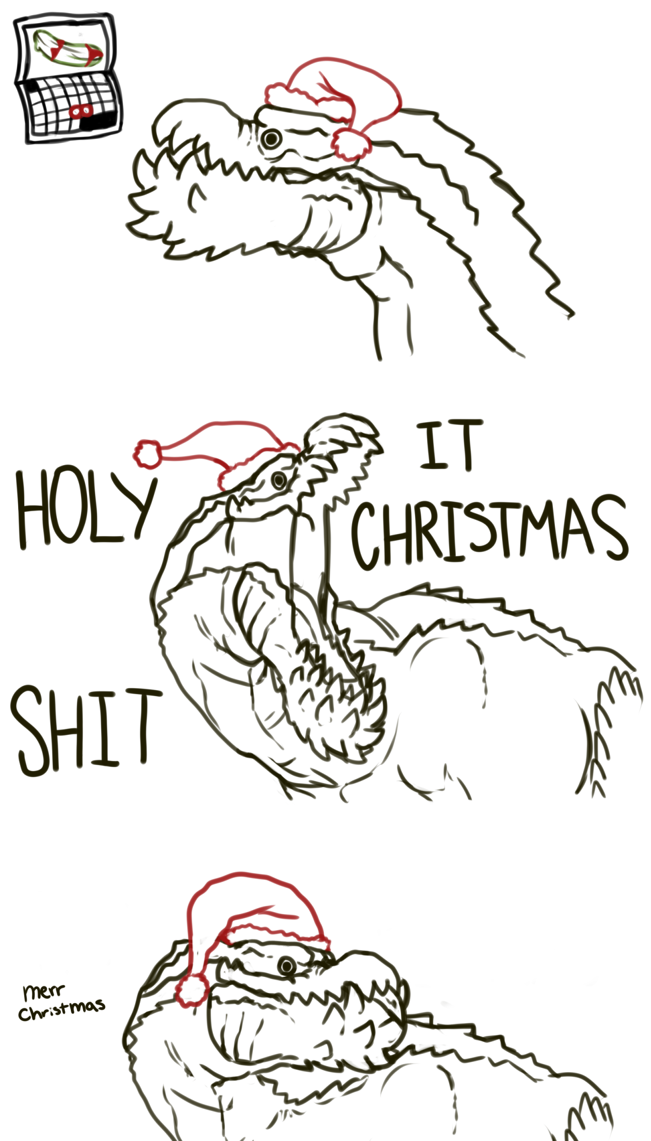 Deviljho Merr Christmas | Merr Chrismas | Know Your Meme
