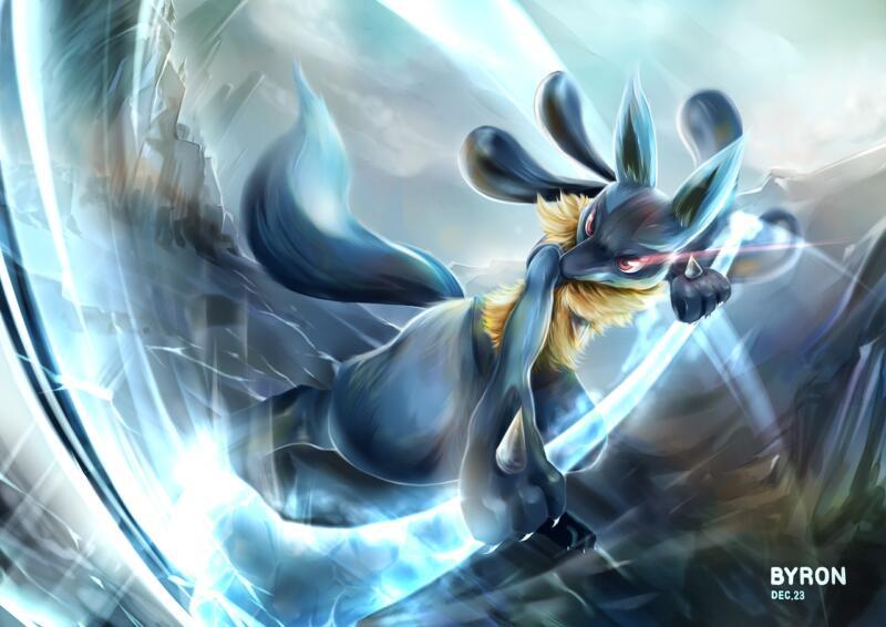 Pokemon Lucario Desktop Wallpaper