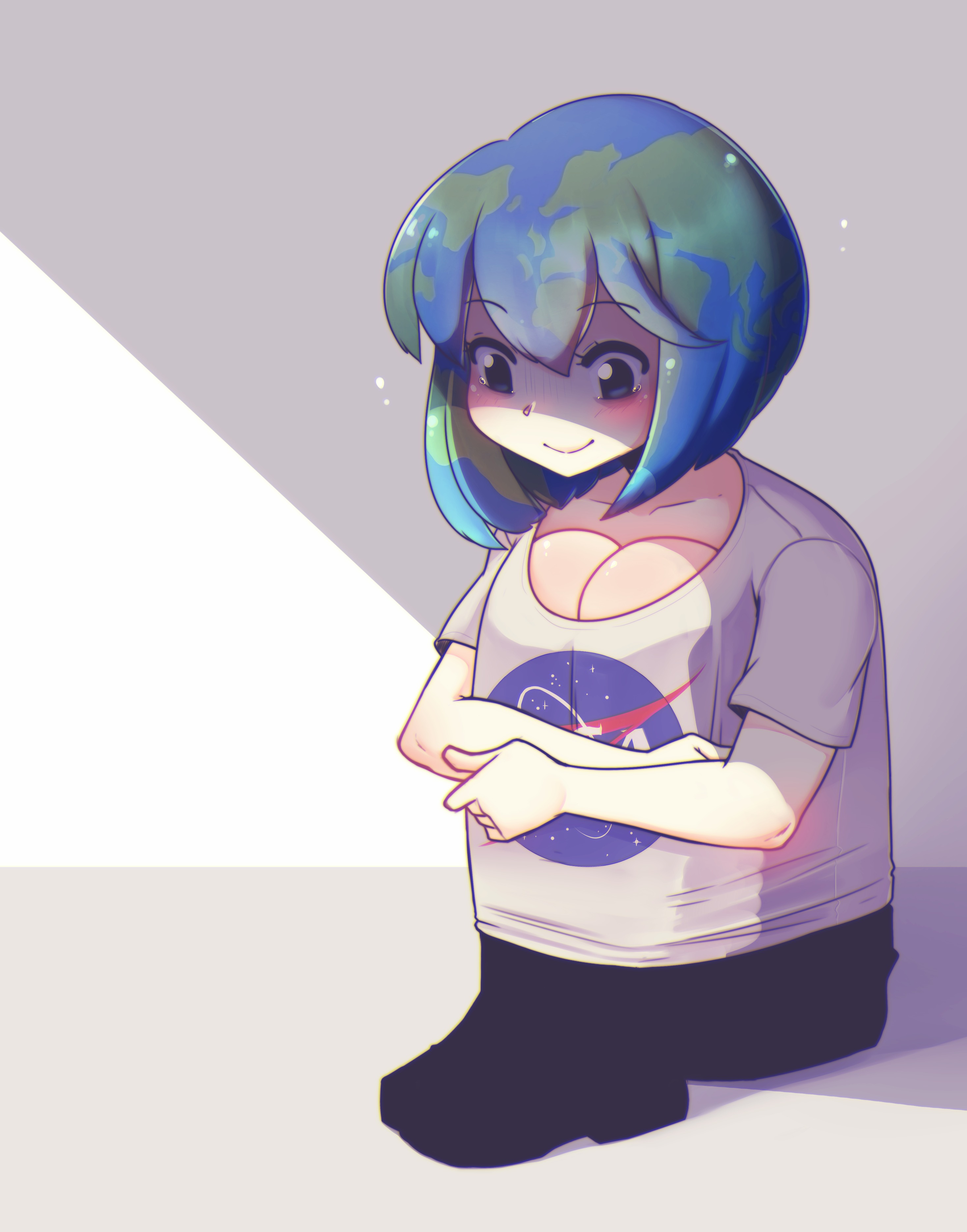 Image result for earth chan memes