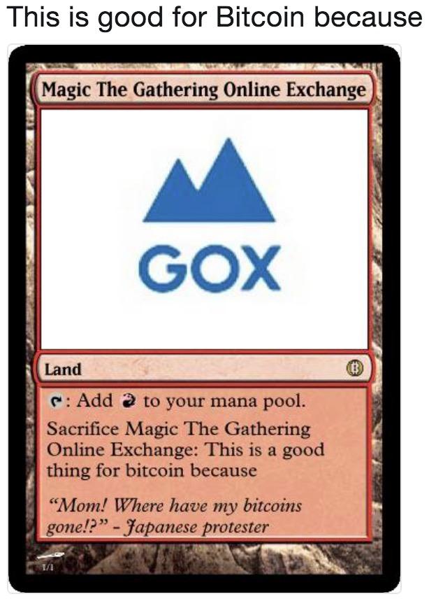 bitcoin magic the gathering)