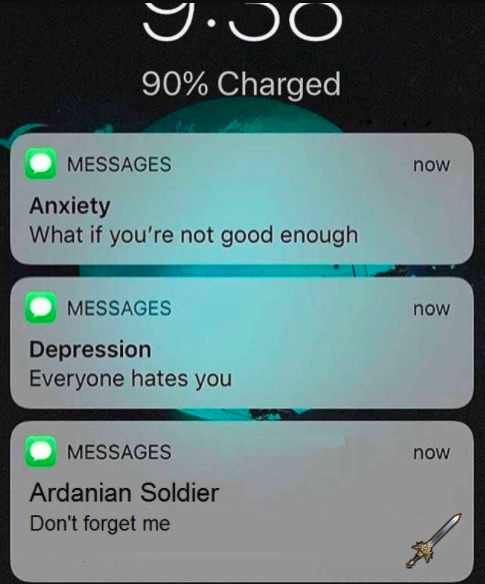 Anxiety Depression Ardarian Soldier Think You Can Take Me Don