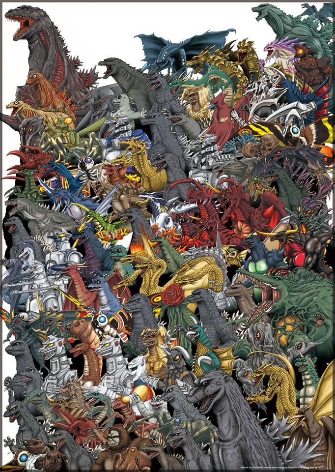 List Of All Godzilla Monsters - Proapp Site