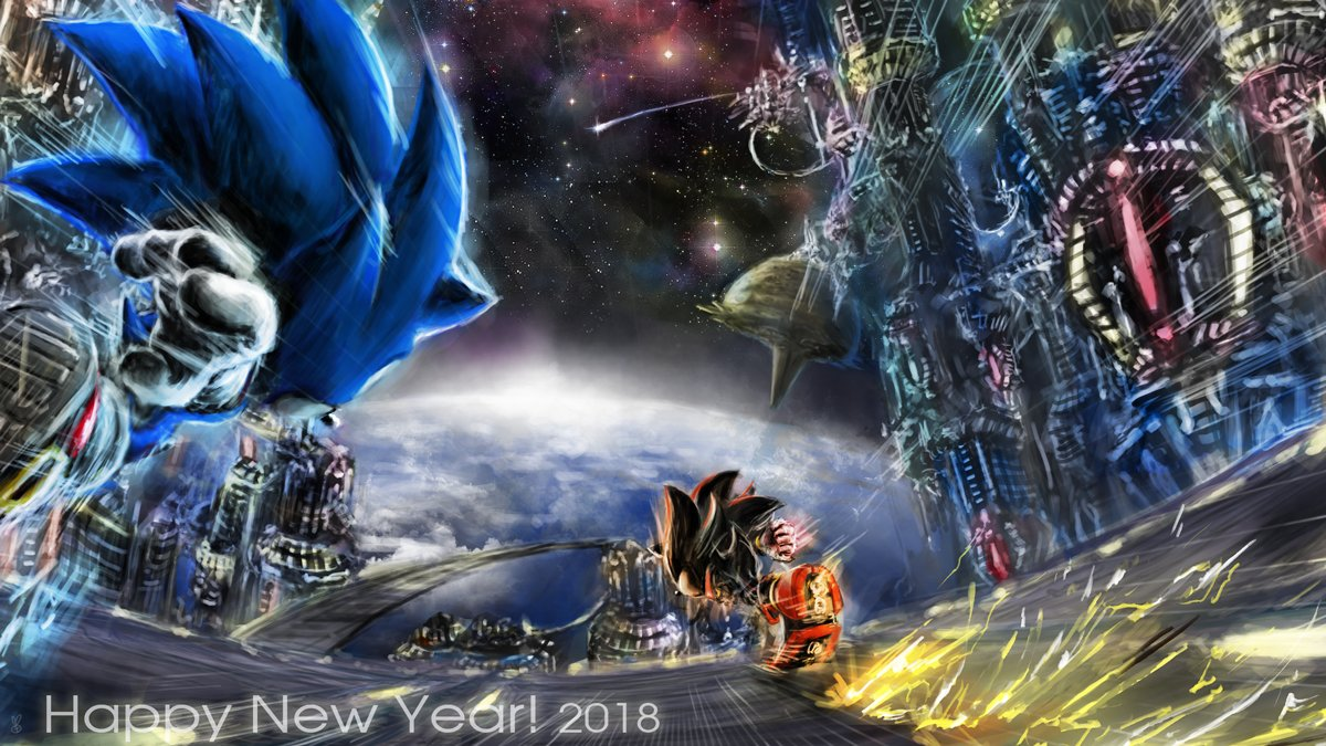 New Year S Ark Art Sonic The Hedgehog Know Your Meme