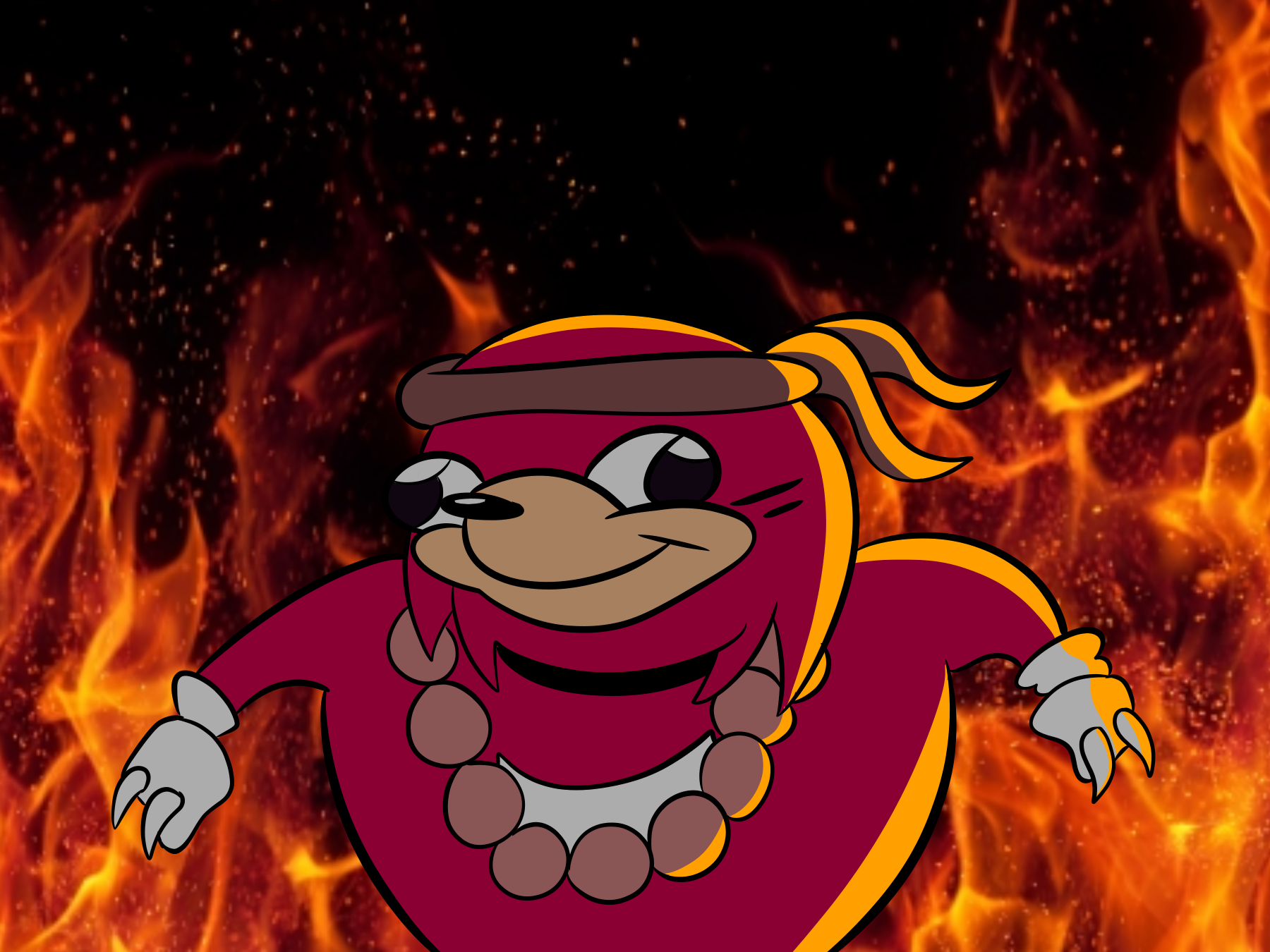 I Knew The Way Ugandan Knuckles Know Your Meme