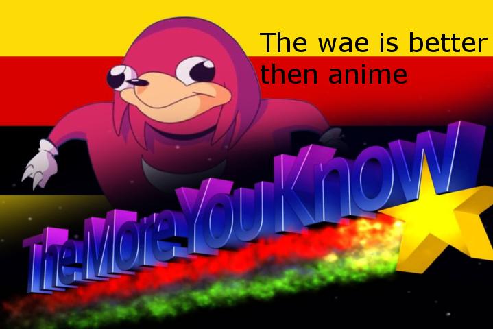 Anime Ugandan Knuckles