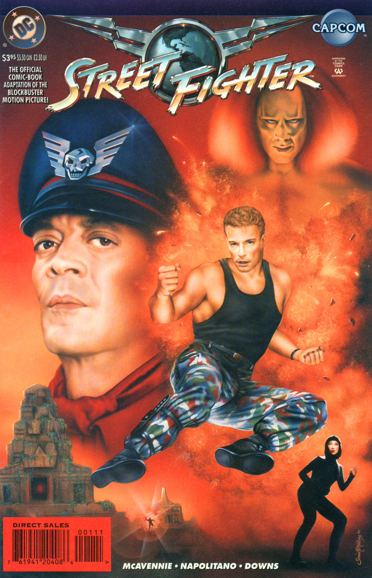 Hey Remember That Time When Dc Made A Comicbook Adaptation Of This Movie Street Fighter Know Your Meme
