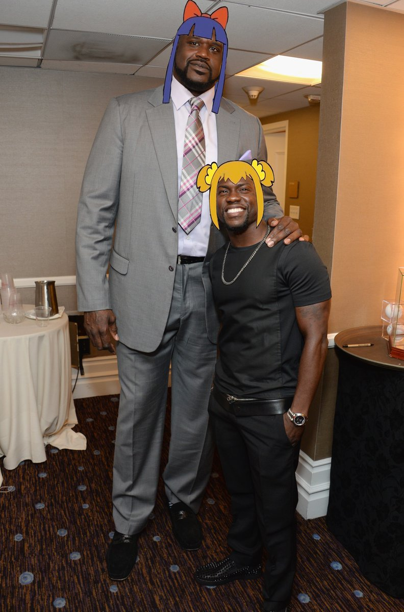 shaquille oneal kevin hart clothing costume